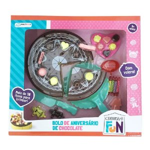 Creative Fun Bolo de Chocolate - Multikids