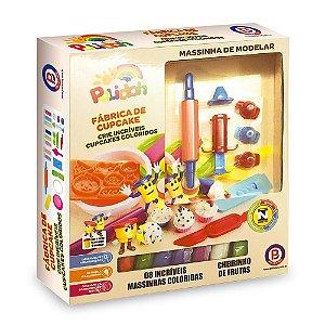 Massinha Modelar Cupcake Polidoh - Polibrinq