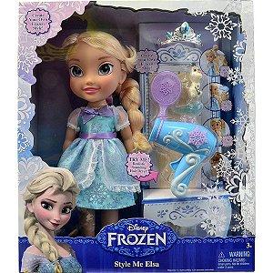 Boneca Elsa com Kit De Beleza - Sunny