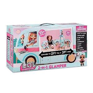 Playset com Mini Bonecas e Veículo Lol Surprise - Glamper - Candide