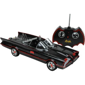 Carro com Controle Remoto Batmóvel Clássico - Candide