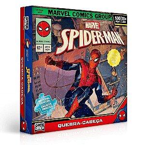 Quebra Cabeça Spider Man 500 Peças - Toyster