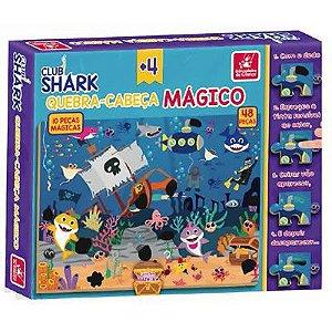 Quebra Cabeça Mágico Club Shark - Brincadeira de Criança