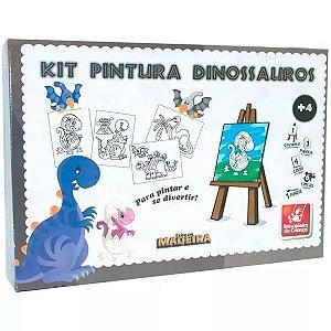 Kit Pintura Dinossauros - Brincadeira de Criança