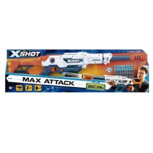 Lançador de Dardos X-Shot Max Attack - Candide