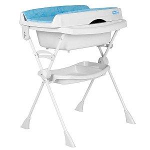 Banheira para Bebê Splash! - Circles Azul - Burigotto