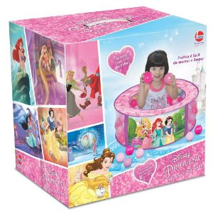 Piscina De Bolinha Princesas Disney 100 Bolinhas - Líder