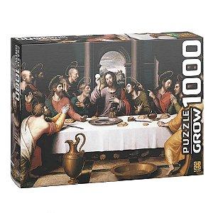 Quebra Cabeça Puzzle Santa Ceia 1000 Peças - Grow