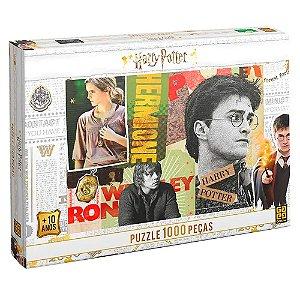 Quebra Cabeça Puzzle Harry Potter 1000 Peças - Grow