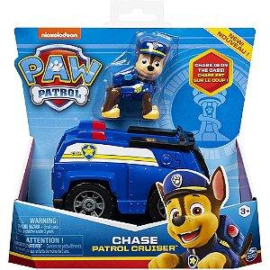 Patrulha Canina Chase e Veiculo Basico Patrol Cruiser - Sunny