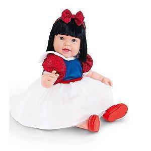 Boneca Charmosa Princesa Morena Articulada - Cotiplás