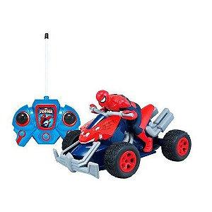 Quadriciclo Homem Aranha Controle Remoto - Candide