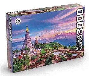 Quebra Cabeça (Puzzle) 3000 peças Tailândia Quebra Cabeça Grow