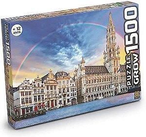 Quebra Cabeça Puzzle 1500 peças Bruxelas - Grow