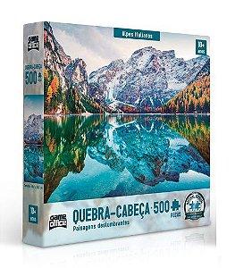 Quebra Cabeça Alpes Italianos 500 peças - Game Office