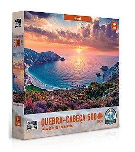 Quebra Cabeça Paisagem Havaí 500 peças - Game Office