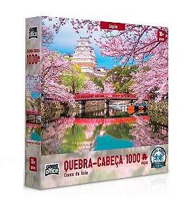 Quebra Cabeça Cores do Japão 1000 peças - Game Office