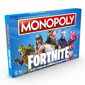 Jogo de Tabuleiro - Monopoly - Fortnite - Hasbro