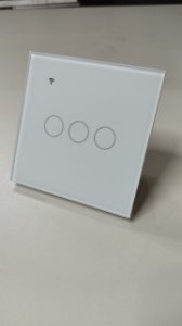 Interruptor touch Wifi alexa Google assistence 3 canais
