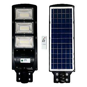 Cabeça de Poste Solar Com Placa Embutida 150W