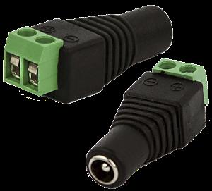 Conector plug P4 Fêmea