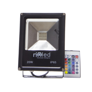 Refletor Led 20W RGB
