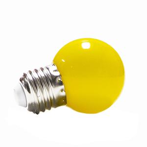 Lâmpada Bolinha Led Decorativa 1W Amarela
