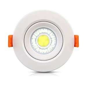 Downlight Spot Led Redondo COB 3W Branco Frio