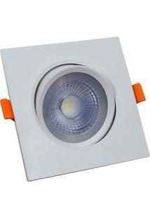 Downlight Spot Led 3W Quadrado COB Branco Frio