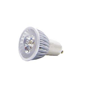 Lâmpada Spot Gu10 Dicróica 3w Branco Quente