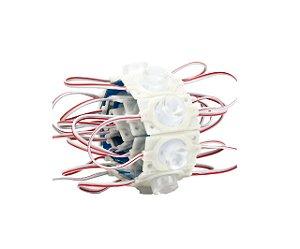 Módulo Led Letra Caixa 3030 12v 1,5w IP67 Branco Frio