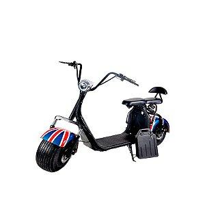 Bike Scooter Elétrica Harley Citycoco 2000w