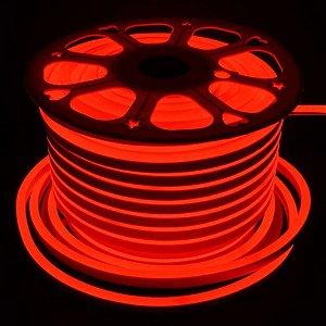 Fita Mangueira Led Neon 127v Vermelho 1 Metro