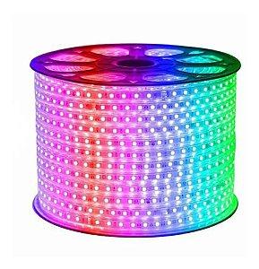 Fita Led 127v 5050 RGB 1 metro