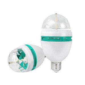Luminária Giratória RGB 6W