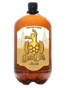Bela Beer Kolsch PET Growler 1 Litro