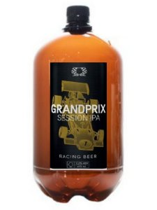 GRAND PRIX SESSION IPA PET GROWLER 1 LITRO
