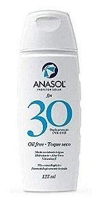 Protetor Solar Anasol Fps 30 125ml Oil Free Hidratante