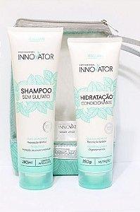 Kit Home Care Itallian Hairtech Innovator Sem Sulfato