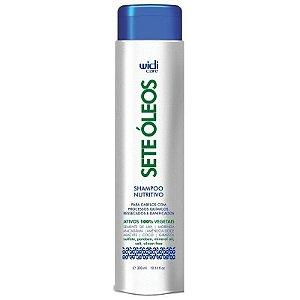 Shampoo Nutritivo 7 óleos 300ml - Widi