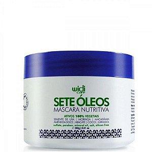 Máscara Nutritiva 7 óleos 300ml - Widi
