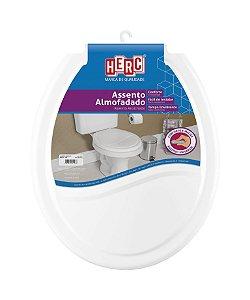 Assento sanitário Herc almofadado branco