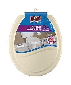 Assento sanitário almofadado HERC bege