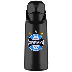 Garrafa Térmica Termolar Magic Pump 1.8L Grêmio Oficial