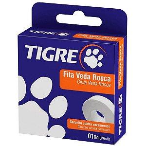 Fita Veda Rosca Tigre 18 mm x 10 m