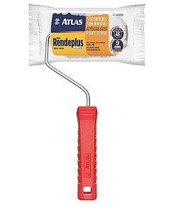 Mini rolo pintura Atlas 9cm de microfibra
