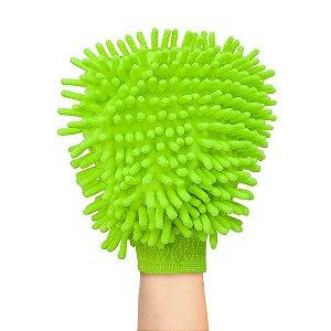 Luva Microfibra Multilaser Dupla Face Limpeza e Polimento