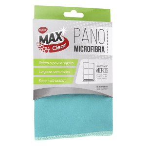Pano Microfibra Clink Limpa Vidros