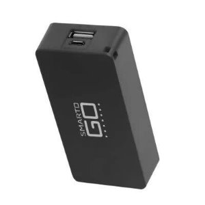 SMARTOGO POWER BANK 4000 MAH UNITARIO PRETO - CB125