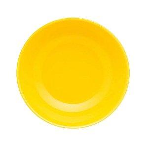 Prato Fundo Cerâmica 23 cm Floreal Yellow Oxford